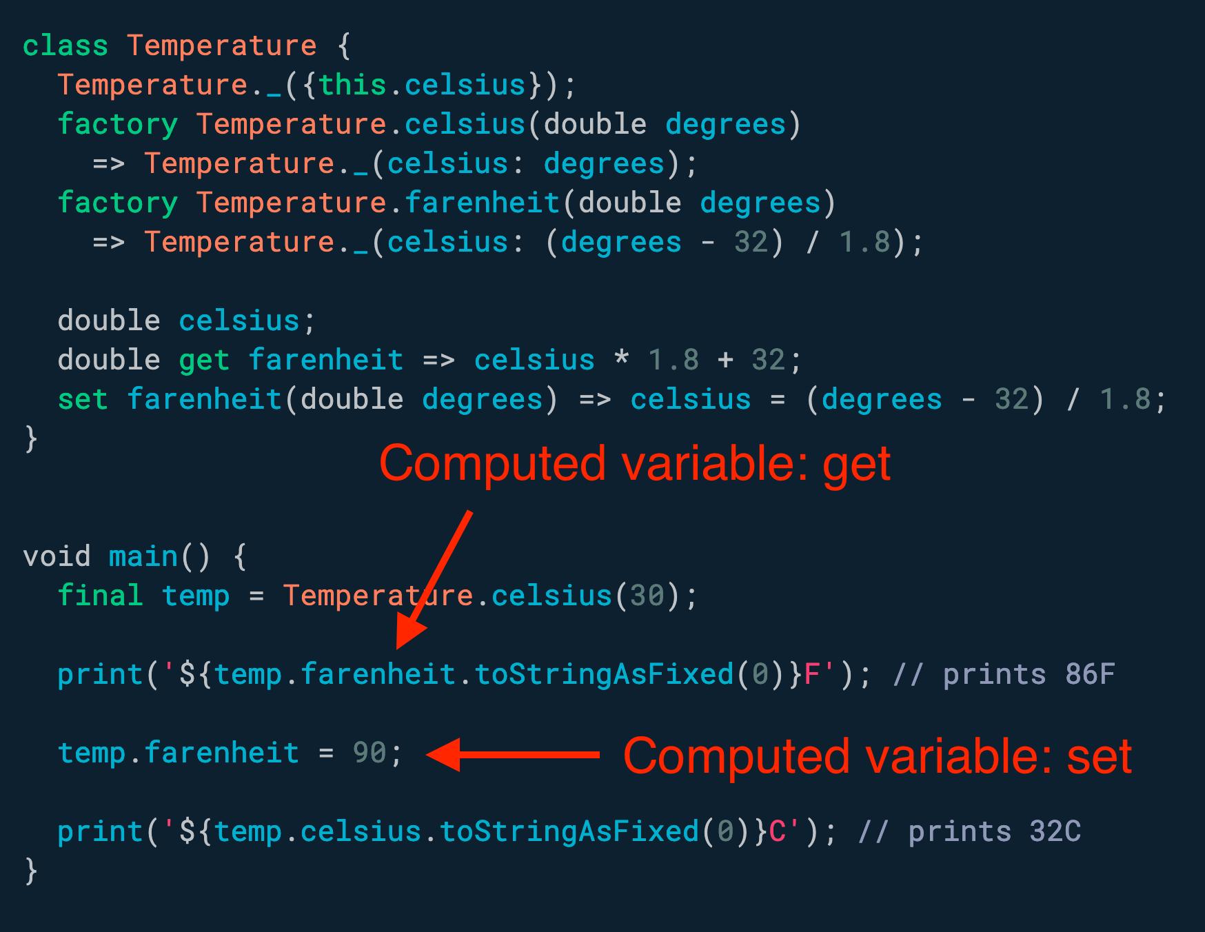 需要使用<!-- raw HTML omitted -->计算<!-- raw HTML omitted -->变量? 使用 getter 和 setter